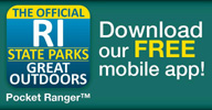 RI Parks Apps Logo, with link to website