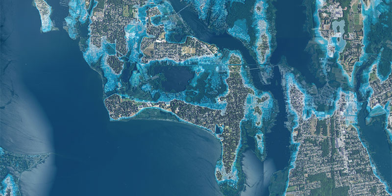 Stormtools Interactive Coastal Flooding Map